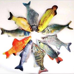 Фаршированные плюшевые животные AnimalStiktok, Cat, Pet Toy, Рыба, плюшевые, электрические игрушки.68ктрем5