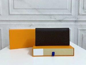 Original de alta calidad de lujo diseñadores billeteras monedero monogramas en relieve Brazza Wallet Classic Pallas Bag Holder Bolsines