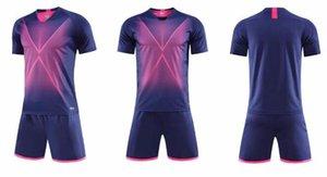 D8 Kits adultes Soccer Jerseys Custom Blank Football Kit Entraînement Course à manches courtes Sport à manches courtes avec short