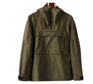 TopStoney 2020 новый с капюшоном на молнии карманная куртка молодежная мода европейская и американская повседневная куртка мужская пальто нейлоновая ткань мужская ножна