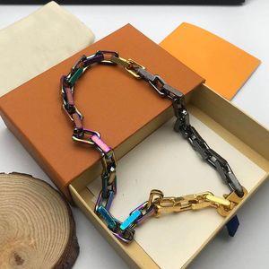 Luxurys Necklace Designers Necklaces Fashion Golden Vintage Charm Bracelets Bangles Couples Love Bracelet Fine Jewelry With Box 21041503SX