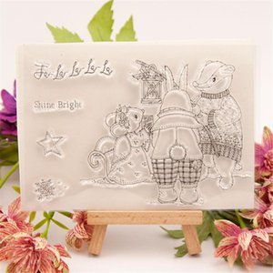 Painting Supplies Shining Metal Cutting Dies And Clear Stamps Set 2021 Christmas Scrapbooking Make Card Craft Stencil Arrivals