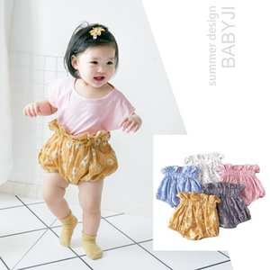 Shorts 2021 0-3 Years Summer Girls Clothes Cotton Ruffle Bloomers Toddler Baby Girl Clothing PP