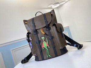 2021 5 Цветов Мужская рюкзак Кристофер Школьная сумка Баскетбол Рюкзак Путешествия Спорт Рюкзаки Дизайнеры Большие Сумки E3YO #