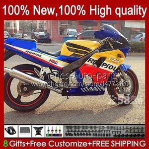 Тело для Yamaha FZR250R FZR250RR Blue Glossy FZR-250R 86-89 BELORSTY 108HC.69 FZRR FZR 250R 250RR FZRRR FZR 250R 250RR FZR-250 1986 1987 1988 1989 FZR250 FZR 250 R RR 86 87 88 89 обтекатель