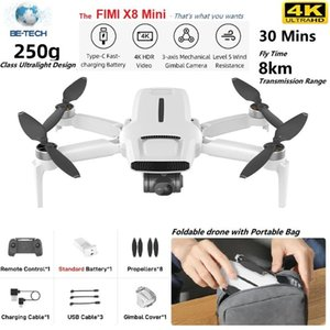 Drones FIMI X8 Mini Camera Drone 250g-class 8km 4k Professional Quadcopter With Gps Remote Control Helicopter
