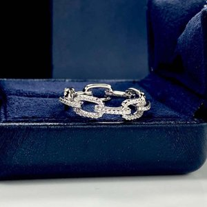 HBP Chain ring female S925 Sterling Silver couple pair personality fashion index finger trendy jewelry