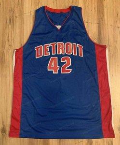 Пользовательские ретро Джерри Stackhouse Swingman Баскетбол Джерси Мужчины Все сшитые голубые Любой размер 2XS-5XL Имя и номер высокого качества