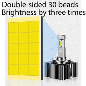 Car Headlights ZTCJL Error Free Light LED D1S D2S D3S D4S D8S D5S Headlight Bulb 70W 9000LM 12V 6000K D Series Auto Headlamp