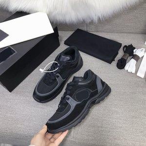 2021 сбежание женщин дизайнерские кроссовки роскошные кожуры R повседневная обувь мужская обувь обувь натуральная кожа мода смешанный цвет оригинальная коробка