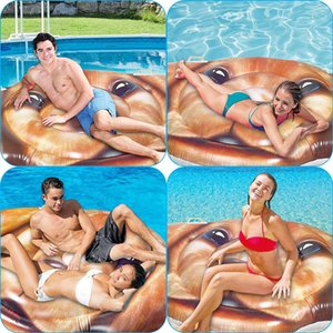 Cartoon Designed Dog Pool Float Summer Holiday Island Beach Float Swimming Pool Party Water Toys for Adults Kids Inflatable