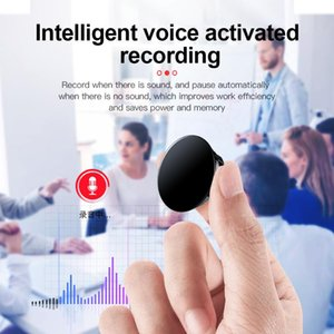 Digital Voice Recorder Q3 Pin Professional Activated Noise Reduce Badge Sound Record HD MP3 Player Audio Q80 Dictaphone