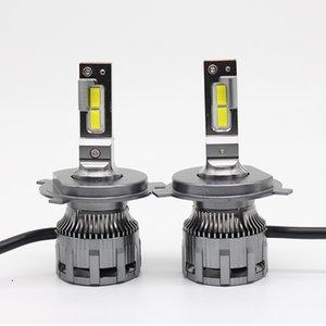 سيارة الضباب مصباح LED ضوء المصباح 60W H4 H7 H1 H8 H9 H11 9005 HB3 9006 HB4 9012 6000K 7000LM المصابيح 16 فولت أضواء IP67 للماء