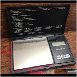 Pocket Digital Scale Balance Peso Escalas 4 Especificaciones Plata Moneda Diamante Joyas de diamante Sin batería Escala electrónica Mar YHZB HR7VB