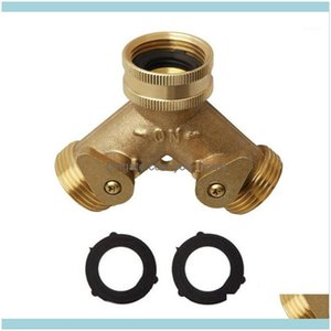 Watering Equipments Supplies Patio, Lawn Home & Gardenfaucet Replacement Parts Three Way T-Adapter For Garden Hose Connector Faucet Splitter