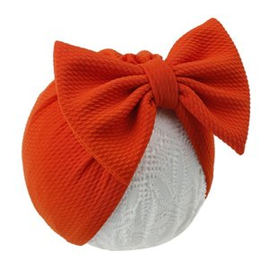 Baby Caps Stuff Accessories Hat With Bow Knot Infant Solid Big Bowknot Cap For Girls Kid Hats