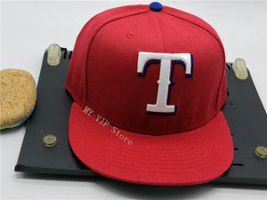 필드 모자에 도매 고품질 남자 레드 스포츠 팀 모자가 닫힌 디자인 크기 7- 사이즈 8 장착 된 야구 고라