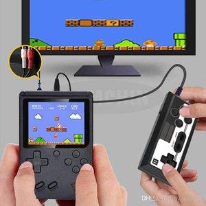 3 인치 스크린 핸드 헬드 게임 콘솔 400 레트로 비디오 게임 콘솔 8 비트 미니 핸드 헬드 게임 플레이어 아이들을위한 게임 패드 소년 선물