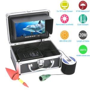 20M 30M 50M 1000tvl Underwater Fishing Video Camera Kit 6 PCS LED Lights with7