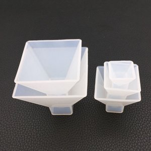 4 Size Transparent Pyramid Silicone Mould DIY Resin Decorative Craft Home decoration Jewelry Making Mold soap molds Resin Resin Kit 238 V2