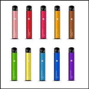 Оригинальный Memento K18 Одноразовый Устройство Комплект Ориентированные 1500 Загонией Аккумуляторная 850 мАч Предовываряется 4,8 мл POD Vape Stick Pen Cigarette100% Аутентичные