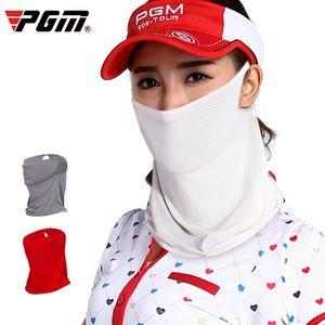 Pgm Golf Sunshade Mask Men's and Women's Ice Silk Bib Summer a Variety of Wearing Methods