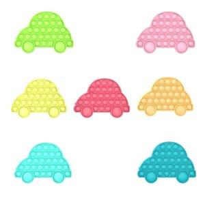 Empurre Pop It Bolha Multicolor Fidget Fidget Brinquedos Autismo Especial Precisa Sensorial Anti-Stress Relief Toy Game Gift For Kids