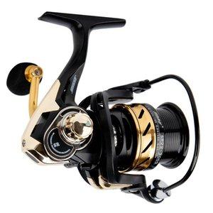 Relógio de pesca 6KG arrastar taxa de engrenagem máxima 7.1: 1 6 + 1BB S carpa Spinning Equipment Acessórios Lidar com Botão de água salgada Baitcasting Backs