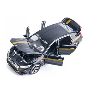 1:32 Scale Diecast Car Alloy Metal Collection Model For TheBmw MH8-800 M8 Racing Powerful Pull Back Toys With Sound&Light