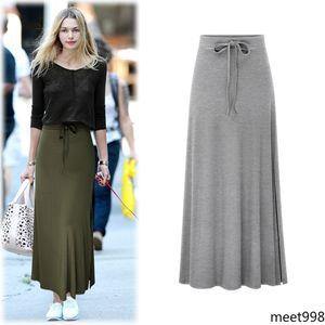 skirts for women Ankle- length, half-length skirts,split-tied belts, High waist belt bag hip midi dress fashion casual home shopping outdoor wear