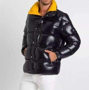 Мода Parkas Мужчины Женщины Дизайнерские Пальто Высокое Качество Осень Зима С Длинным Рукавом Пуловер Повседневные Топы Мужская Одежда Размер 1-5