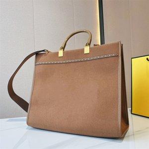 SUNSHINE Flannel Shopper Bag FF Logo Handles Tote Luxury Embroidery Women Handbag Fashion Shopping Fanny Pack Lady Designer Stylish Large Capacity Bags m1
