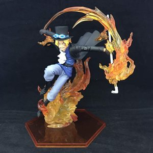 Anime One Piece Sabo Action Figures 18cm PVC Collectible Model Toy Decoration Doll