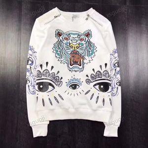 KENZO sweater Hombres, mujeres, ropa deportiva pareja (sistemas de la ropa ropa de sport traje de diseño de lujo primavera y otoño playa de moda Camisa de las vacaciones