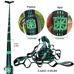 Outdoor Games & Activities Hammock Straps Camping Hiking 3m With Adjustable Loops Hanging Belt Lightweight Extra-Long