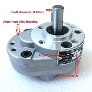 Pumps Hydraulic gear oil CB-B4 CB-B6 CB-B10 aluminum alloy low pressure lubrication pump system of machine tools KP8N