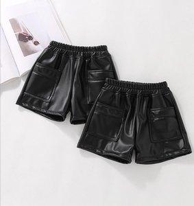 Shorts 2021 Wholesale Girls Leather Thicken Autumn Winter Fashion 3-8t C42