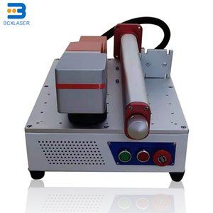 Electric Trimmers BCX 20w 30w Floor-standing Fiber Laser Marking Machine Engraver