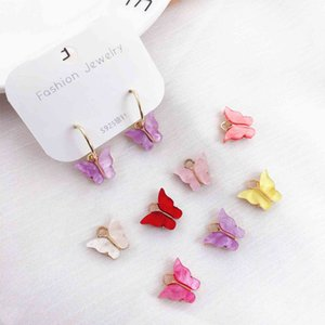 10pcs 7 Color Resin Animal Butterfly Charms for Jewelry Making Pendants Necklaces Cute Earrings DIY Handmade Accessories