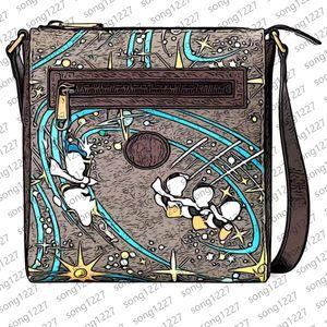 2021 pvc Designer Messenger Bags 645 Exquisite workmanship must be purchased Cartoon Fashion design SIZE 21 23 4