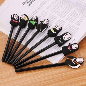 Cartoon Anime Cute Faceless Gel Pen 0.5mm Black Stationery Pens Student School Office Supplies Writing Tools 0316