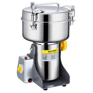 Electric Coffee Grinders 220V 2500g Powder Machine Food Grinder Spice Crusher Commercial Stainless Steel Copper Motor Grain