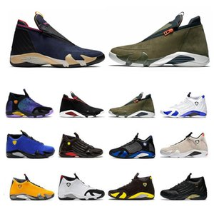 2021 Scarpe da basket Jumpman 14 14s Uomini Gym Blue Red Candy Canne University Gold Hyper Royal Mens Trainer Stuss Sneakers Dimensioni 40-46