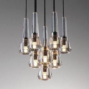 Pendant Lamps Lighting Dining Room Country Lamp Shades Brass Ventilador De Techo Living Decoration Avizeler