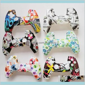 Soft Silicone Gel Rubber Case Cover For Sony Playstation 5 For Ps5 Controller Protection Case For Ps5 Gamepad S90Bp Dly4J