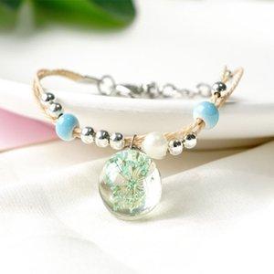 Spring and summer flower women's Bracelet hand woven 126