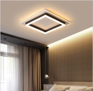 Modern ceiling lights for hallway balcony corridor Coffe white light lamps bedroom luminaria teto acrylic lamparas de teco