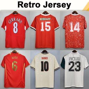 1993 1995 Dalglish Heskey Mens Retro Soccer Jerseys Fowler Gerrard Torres Kuyt Casa Away 3rd Camicia da calcio Manica corta Adult Uniformi adulti