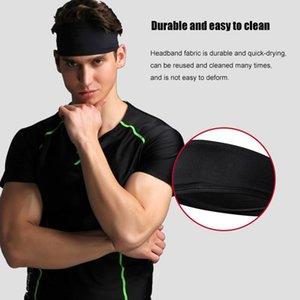 Women Sport Headband Moisture Wicking Wide Non Slip Sweatband Gym Yoga SEC88 Hair Bands