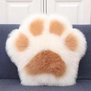 2021 جميل القط مخلب وسادة الدب وسادة أريكة الأسرة أفخم لعب السرير كرسي الظهر